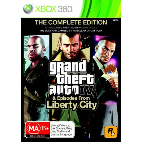 grand theft auto iv complete edition xbox one