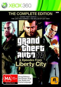 Grand Theft Auto 4 The Complete Edition (Xbox 360/Xbox One)