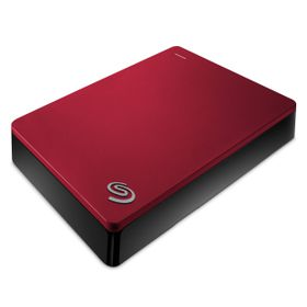 "Seagate Backup Plus 4TB 2.5"" Portable Hard Drive - Red"
