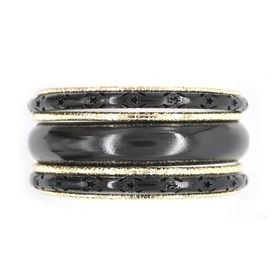 Lily & Rose Gold & Black Plated Multi Bangle Set - TLBR042