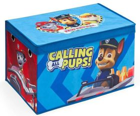 Delta Paw Patrol Collapsible Fabric Toy Box - Blue