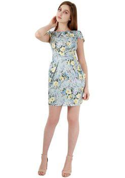 Closet London - Primrose Floral Tie back Dress