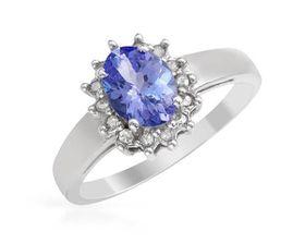 Natural Diamond Engagement Ring 10K White Gold - 0.25ctw