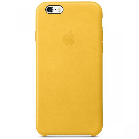check out dcd56 50dfe Apple iPhone 6s Plus Leather Case - Marigold