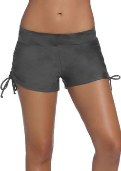 Grey Slider Swimshorts