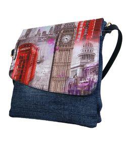 Fino Crossbody Denim Sling Bag Sk1601