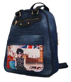 Fino Denim Backpack Sk1615