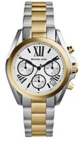 Michael Kors Women's Mini Brandshaw Watch, Gold/Silver Mk5912 (Parallel Import)