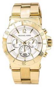 Michael Kors Women's Gold Aluminum Quartz Watch With Gold Dial Mk5463 (Parallel Import)