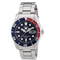 Seiko 5 Blue Dial Stainless Steel Automatic Mens Watch Snzf15 (Parallel Import)