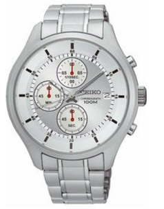 Seiko Men's Chronograph Stainless Steel Case & Bracelet Sks535 (Parallel Import)