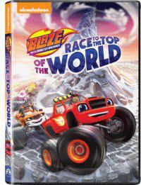 Blaze & The Monster Machines Race To The Top Of The World (DVD)
