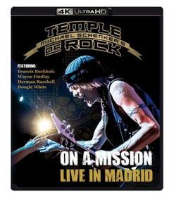 Michael Schenker's Temple of Rock: On a Mission - Live in Madrid (4K Ultra HD Blu-ray)