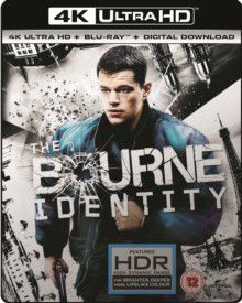 Bourne Identity (4K Ultra HD + Blu-Ray)