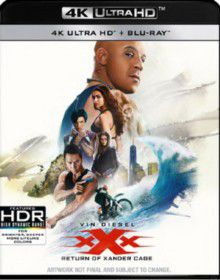 Xxx: The Return Of Xander Cage (4K Ultra HD + Blu-Ray - Parallel Import)