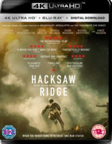 Hacksaw Ridge (4K Ultra HD + Blu-Ray)