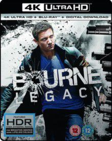 The Bourne Legacy (4K Ultra HD + Blu-Ray - Parallel Import)