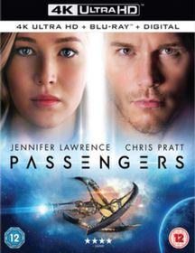 Passengers (4K Ultra HD + Blu-Ray)