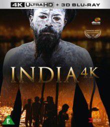 India 4K (4K Ultra HD + Blu-Ray)