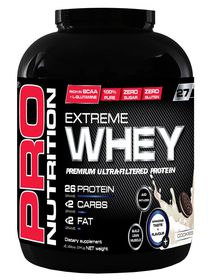 Pro Nutrition Extreme Whey Protein 2KG - Cookies & Cream