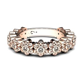 Beautiful Bloom Stax - Rose Gold (Ring Size: M)