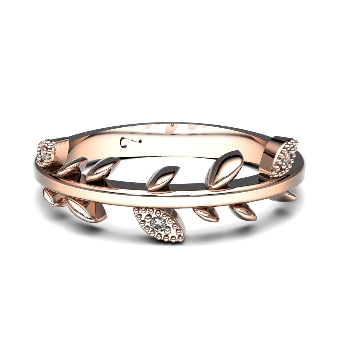 Why Beautiful Branch Diamond Ring - Rose Gold (ring Size: M)   Buy ...