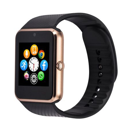 c11713de3 Smart Watch SD SIM Camera GT08 - Gold