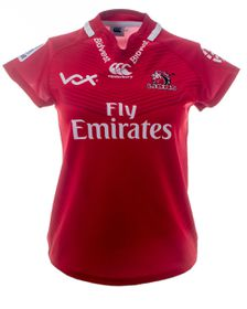 Women's Canterbury Lions 2017 Super Rugby Home Jersey