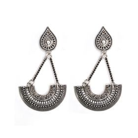 Lily&Rose Silver Plated Bohemian Style Drop Earrings