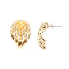 Lily&Rose Yellow Gold Plated Multi Band Earrings