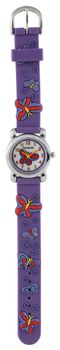 DigiKids 3D Analogue Watch - Lilac Butterfly