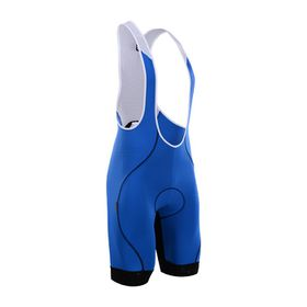 Cycling Box Mens Astra Bib Shorts Blue