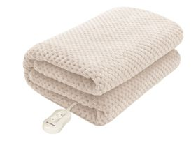 Pure Pleasure - Full-Fit Coral Fleece Electric Blanket