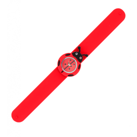 Pylones Ladybird Slap Watch - Red
