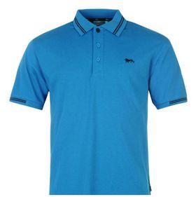 Lonsdale Lion Polo Mens Shirt - Blue