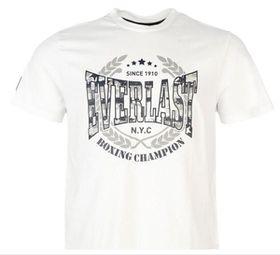 Everlast Printed Mens T-Shirt - White