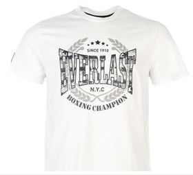 uk availability shop for shades of Everlast Printed Mens T-Shirt - White