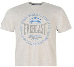 Everlast Printed Mens T-Shirt - Grey