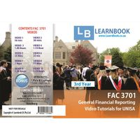 Learnbook SA FAC 3701 Video Tutorials for Unisa