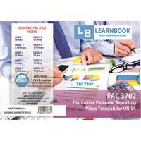 Learnbook SA FAC 3702 Video Tutorials for Unisa