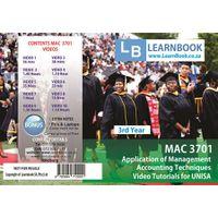Learnbook SA AUE 3701 Video Tutorials for Unisa