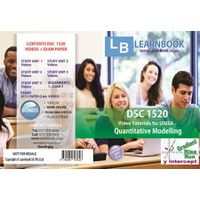 Learnbook SA DSC 1520 Video Tutorials for Unisa