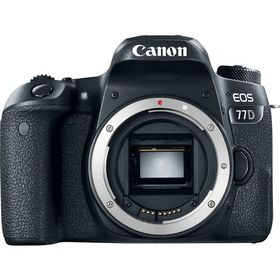 Canon 77D 24.2MP DSLR Body Only - Black