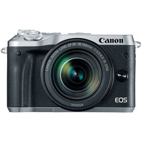 Canon EOS M6 with 18-150mm Lens - Silver