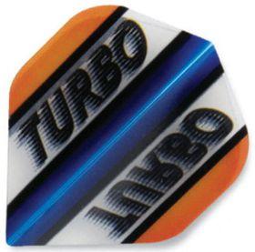 Turbo Darts Flight - Orange (Pack of 6)
