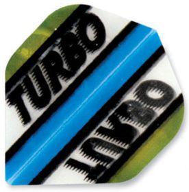 Turbo Darts Flight - Green (Pack of 6)