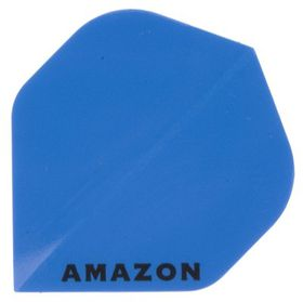 Amazon Solid Dart Flight - Blue (Pack of 6)