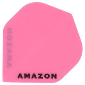 Amazon Solid Dart Flight - Pink (Pack of 6)