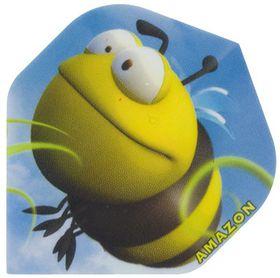 Amazon Cartoon Darts Flight - Bee (Pack of 6)