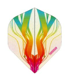 Penthalon Darts Flight - Rainbow (Pack of 6)